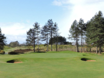 The 5th hole at Southport & Ainsdale Golf Club