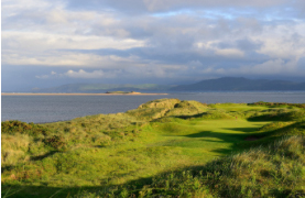 The championship links at Dooks Golf Club