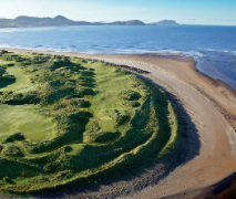 The wonderful 16th hole at Waterville Golf Links